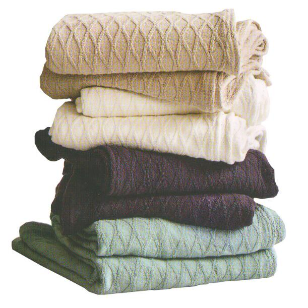 Cotton Blanket Sofa Towel Blanket Office Nap Air Conditioning Blanket Blanket Double Single Thin Small Towel