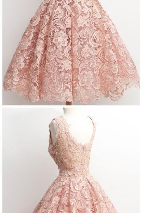 Ball Gowns Vintage Lace Homecoming Dresses, Prom Dresses, Party Dresses