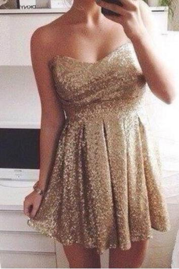 Short Mini Sequined Homecoming Dresses, Prom Dresses, Bridesmaid Dresses, Party Dresses, Fashion Dresses