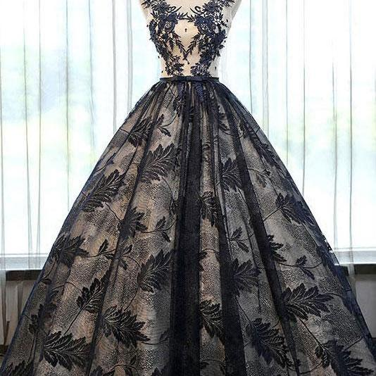 Elegant Ball Gowns Prom Dresses Evening Dress Birthday Gowns with Sash